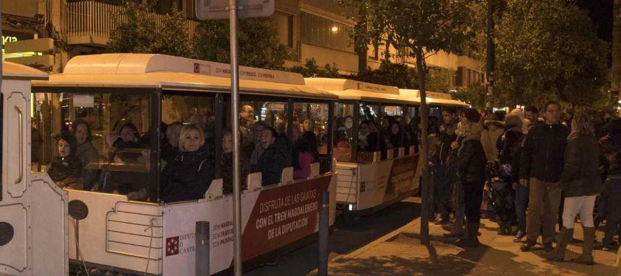 Los Trenes Magdaleneros de la Diputación llenan en todas sus rutas con una excelente acogida de los castellonenses.