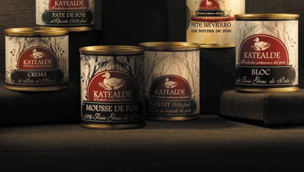 Patés de la marca Katealde