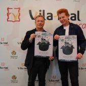 El regidor de Cultura Eduardo Pérez i el director del festival el mag Yunke han presentat la XI edició del festival màgia per ací.