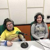 Matías y Yaiza, alumnos del CP Miguel de Cervantes