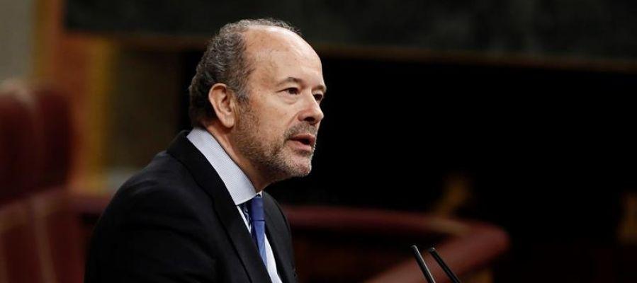 El diputado del PSOE, Juan Carlos Campo