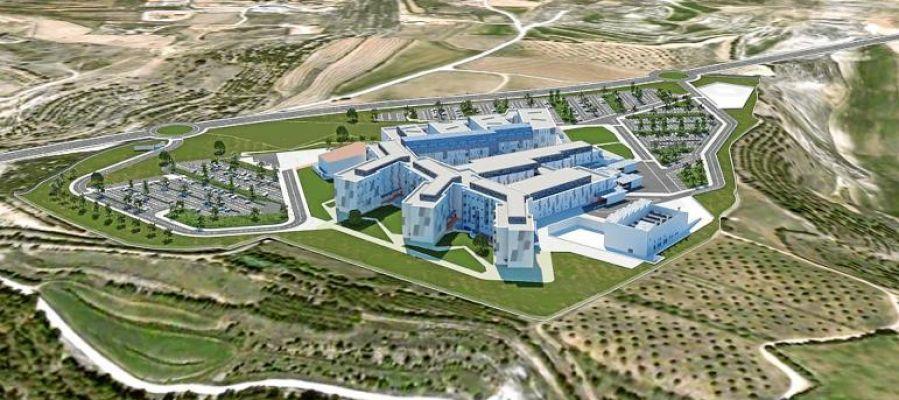 Maqueta hospital Teruel