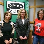 Rosario Martínez, Jefa de Consumo del Ayuntamiento De León, Belén Pérez, asesora y Elena Díez, Pta de la Junta Arbitral de Consumo