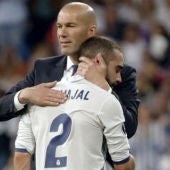 Carvajal y Zidane.