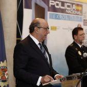 El director general de la Policía,Germán López Iglesias
