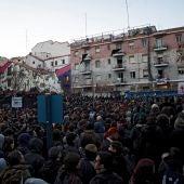 Miles de personas piden justicia por la muerte del mantero en Lavapies