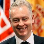 El embajador de Reino Unido en España, Simon Manley,