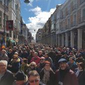 Manifestación por unas pensiones dignas del pasado sábado en Palencia.