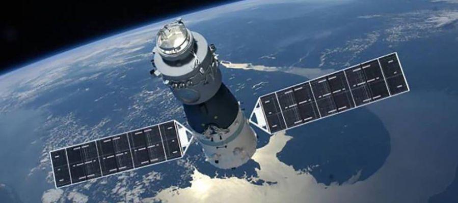 la estación espacial china Tiangong-1