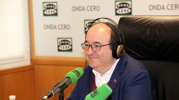 """Miquel Iceta: """"Yo no hubiera decretado prisión preventiva a Jordi Sánchez, pero tampoco le haría president"""""""