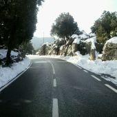 Carretera entre Estellencs y Andratx