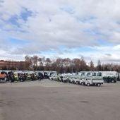 Flota del servicio de limpieza viaria de Alcalá de Henares
