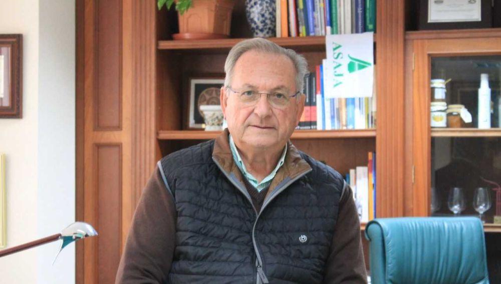 Eladio Aniorte, presidente de Jóvenes Agricultores ASAJA Alicante