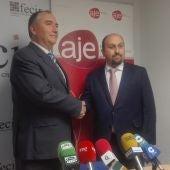 Carlos Marín y Gonzalo Caballero