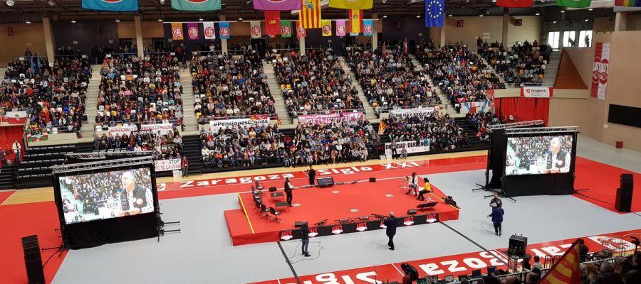 Asamblea de UGT en Zaragoza