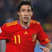 El lateral de la Selección, Joan Capdevila.
