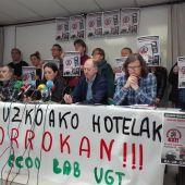 Convocatoria de huelga en el sector hotelero.