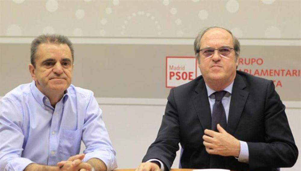 José Manuel Franco con Ángel Gabilondo