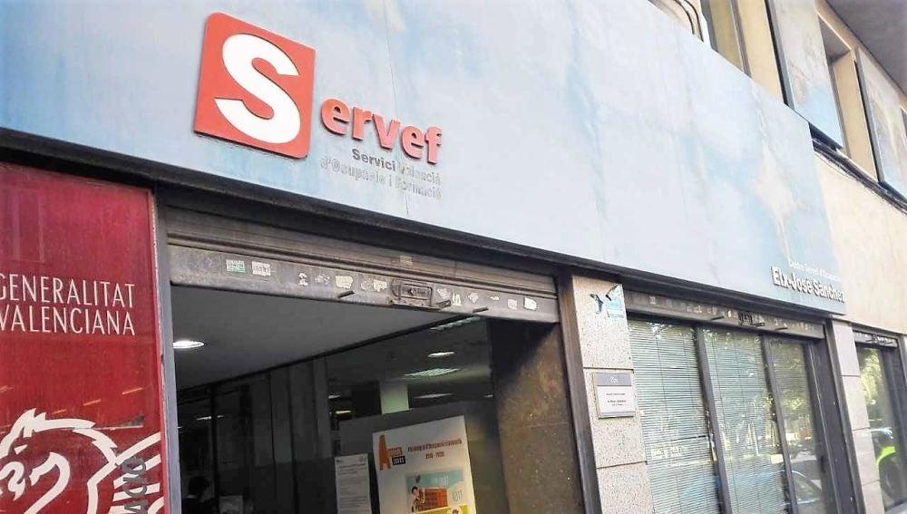 Oficina del Servicio Valenciano de Empleo y Formación (SERVEF).