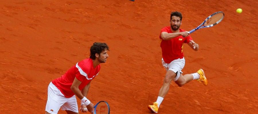 Marc López y Feliciano López
