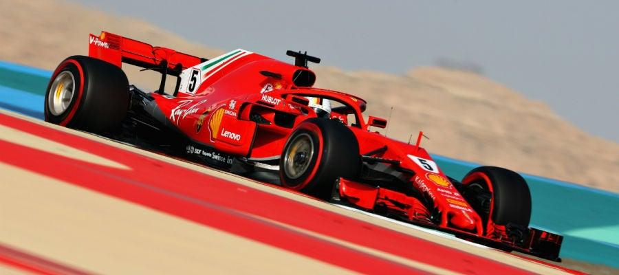 Sebastian Vettel, en Baréin