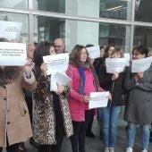 Concentración de funcionarios de justicia en los Juzgados de Ciudad Real