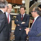 El consejero de empleo ha visitado hoy el Campus María Zambrano de Segovia