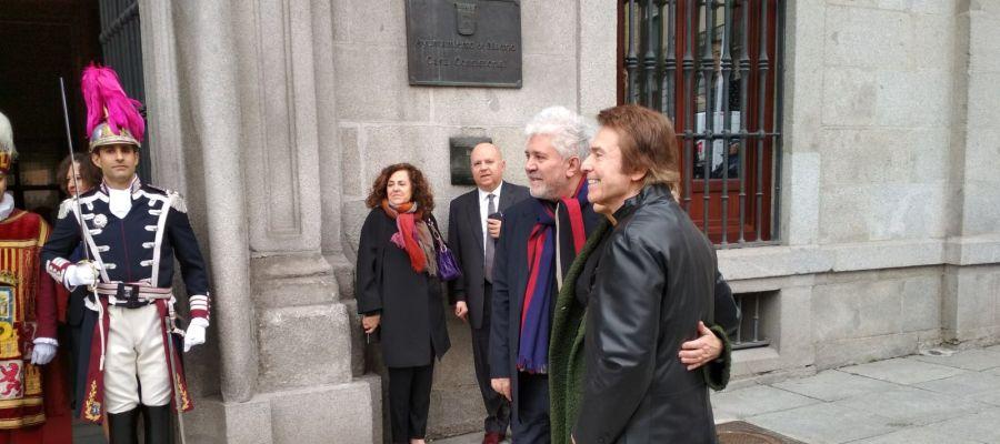 Pedro Almodóvar y Raphael