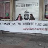 Concentración de la Coordinadora de Pensionistas de Ciudad Real