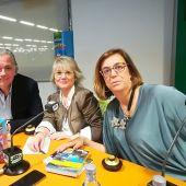 Alcaldesa de Aguilar de Campoo, María José Ortega, y la presidenta de la Diputación de Palencia, Ángeles Armisen