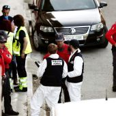 La Policía Foral investiga el posible parricidio en Olite