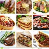 collage de comidas