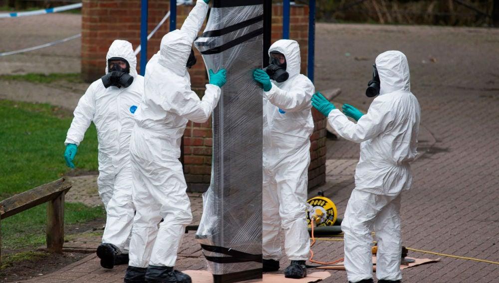 Labores de descontaminación de Salisbury