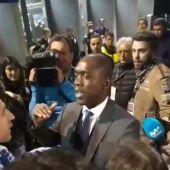 Seedorf habla con los aficionados del Dépor en Butarque
