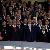 (22-04-2018) - Duelo de abucheos y aplausos al himno de España en la final de la Copa del Rey entre el Barcelona y el Sevilla en el Wanda Metropolitano