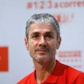 Martín Fiz durante un evento