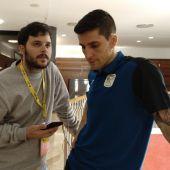 El jugador del Inter Movistar, Carlos Ortiz.