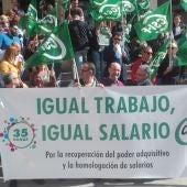 Concentración de CSIF frente a la Subdelegación del Gobierno en Ciudad Real