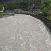 El río Cinca a su paso por Lafortunada