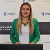 La alcaldesa de la Vall, Tania Baños.
