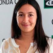 Sonia Fernández Vidal en los estudios de Onda Cero Barcelona