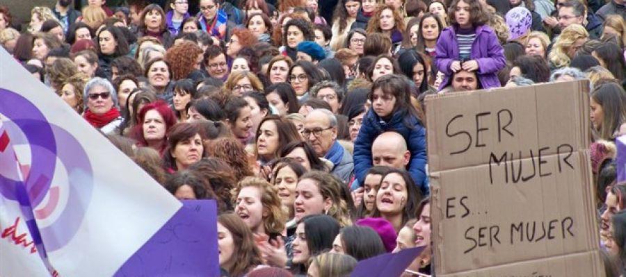 Imagen de archivo de una de las movilizaciones feministas del 8 de marzo