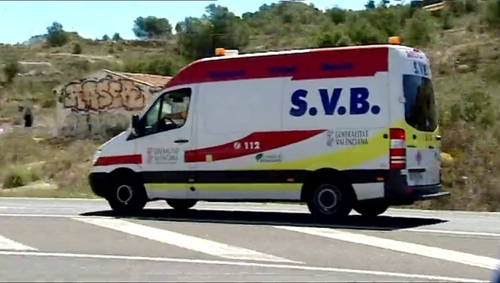 Una ambulancia SVB