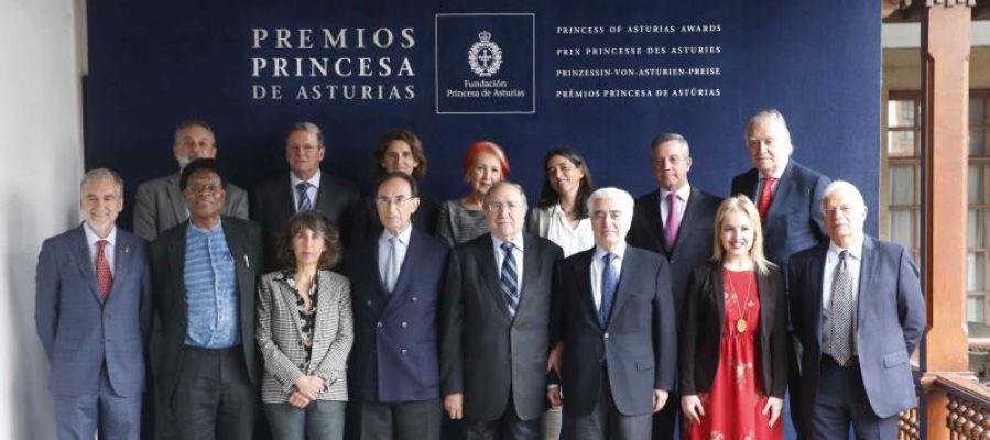 El jurado encargado de fallar el Premio Princesa de Asturias de Cooperación Internacional 2018