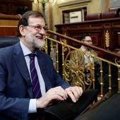 El presidente del Ejecutivo, Mariano Rajoy