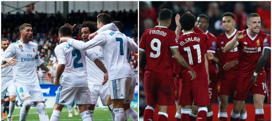 Real Madrid vs Liverpool en la final de la Champions