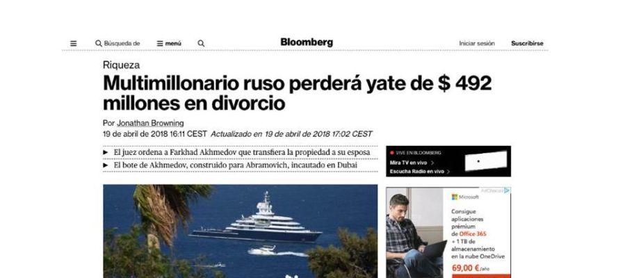 Noticias del mar