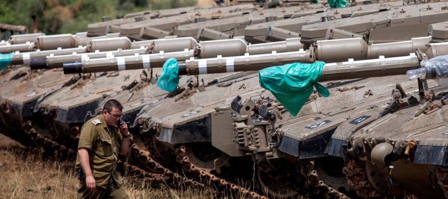 Tanques israelíes