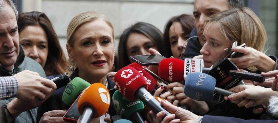 Noticias Antena 3 14:00 (11-05-18) Cristina Cifuentes, citada como investigada por el 'caso máster' por presuntos delitos de falsificación de documento público y cohecho