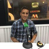 Óscar Trejo, jugador del Rayo Vallecano